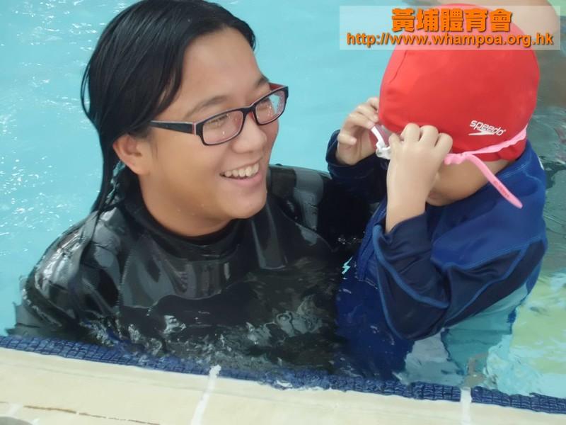 20111013 何文田 幼兒泳班