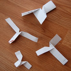paper helicopter