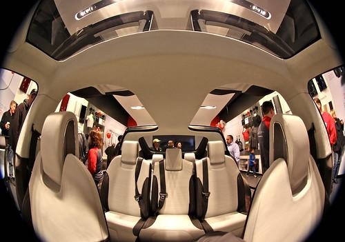 Sliding inside the Tesla Model X | Flickr - Photo Sharing!