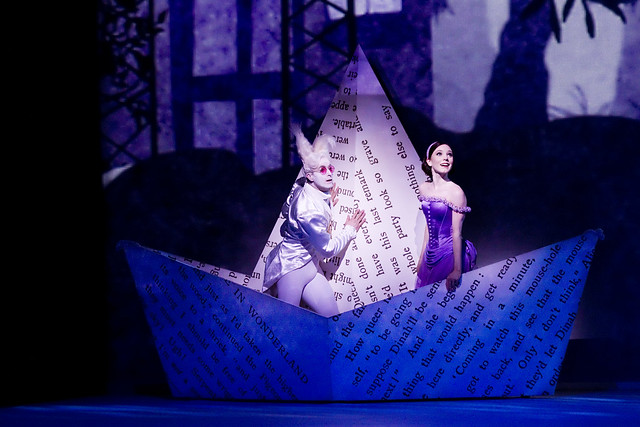 Sarah Lamb as Alice, and Jonathan Howells in Alice's Adventures in Wonderland © Johan Persson/ROH 2011