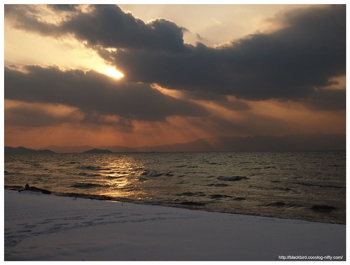 Biwako Sunset