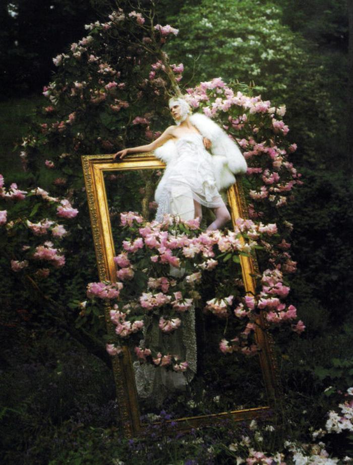 wim walker floral frame