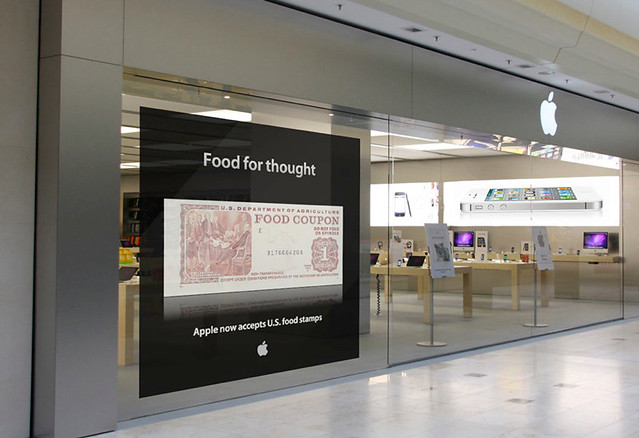 Apple Store Accepts Food Stamps