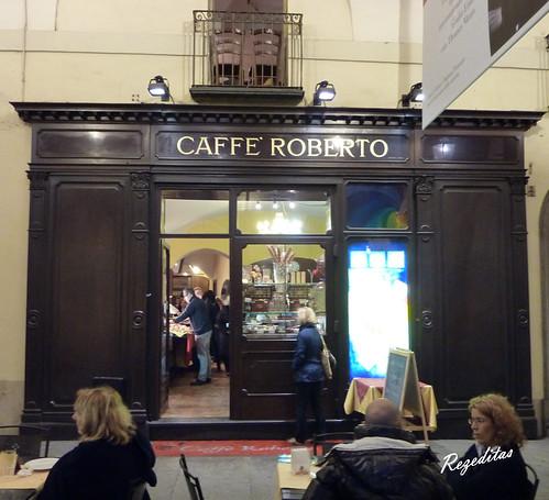 paseando por Turin, Café Roberto