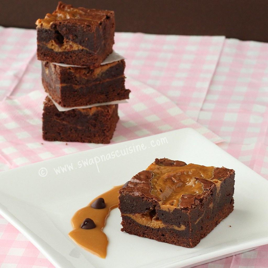 Swapna's Cuisine: Dulce de Leche Brownie Recipe