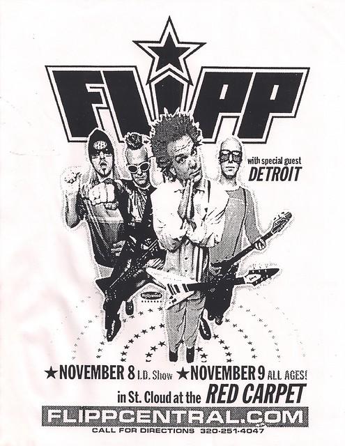 1999-11-08 Red Carpet Flyer