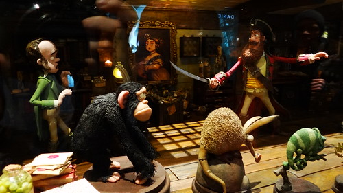 The Pirate Captain confronts Charles Darwin in The Pirates! In An Adventure With Scientists
