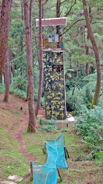 Zipline in Baguio