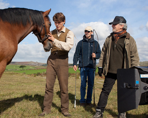 Spielberg directing