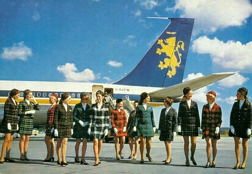 British Caledonian air hostesses