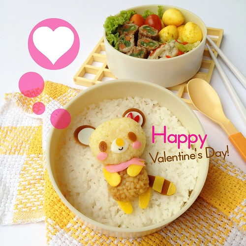 Tenorikuma Bento - Happy Valentine's Day!