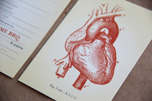 and kathleen wedding invitations anatomical heart