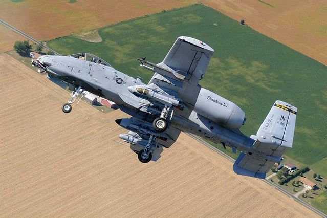 New 163rd Fighter Squadron A-10C shots on Facebook ...