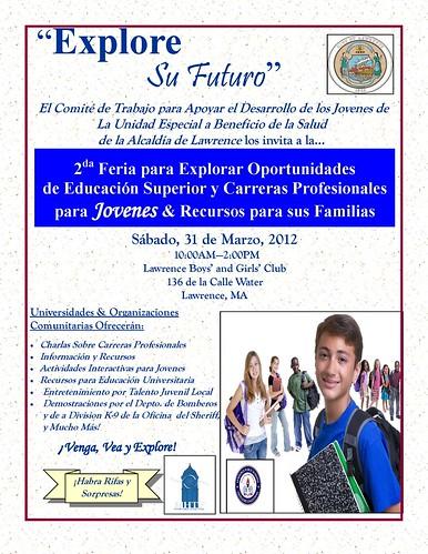 Explore your future_YouthCareerResourceFair_Flyer_SpanishRevised 2012