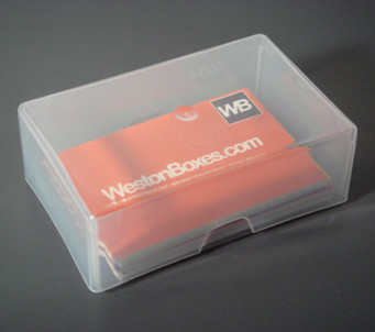 Clear plastic business card box a photo on flickriver clear plastic business card box colourmoves