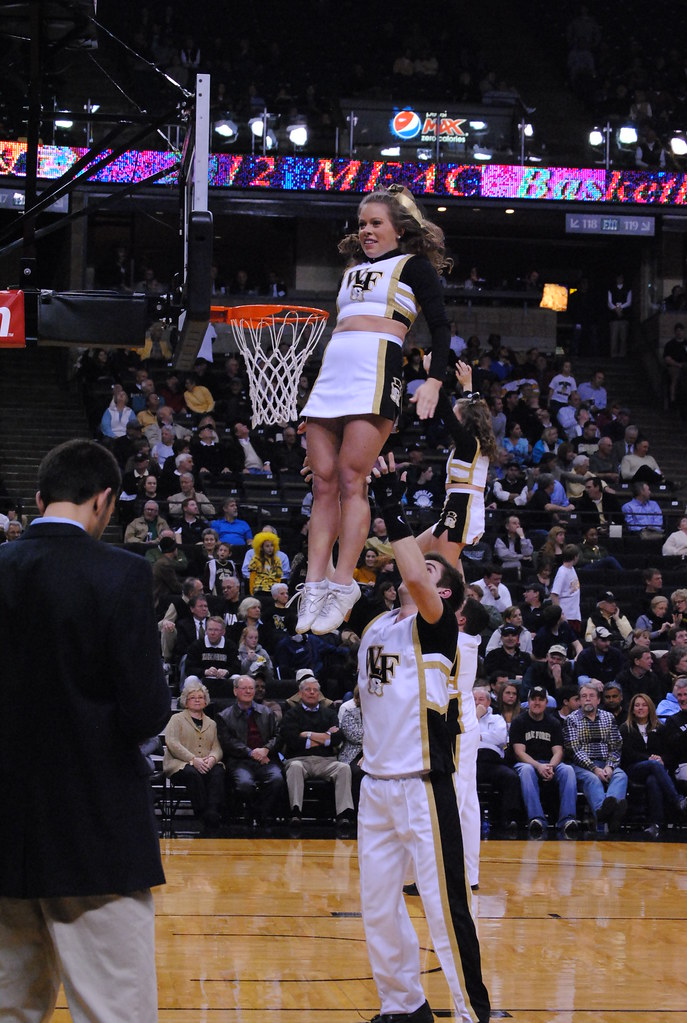 WAKE FOREST CHEERLEADER