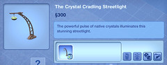 The Crystal Cradling Streetlight