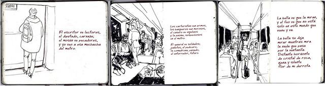 la bella y el metro / 2
