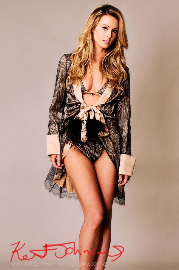 Harlette Lingerie, Double Trouble Kimono