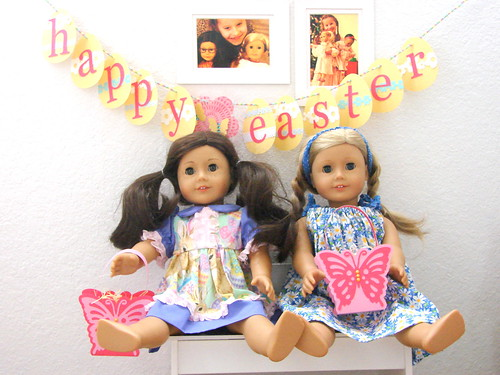 American Girl Doll Easter Decorations