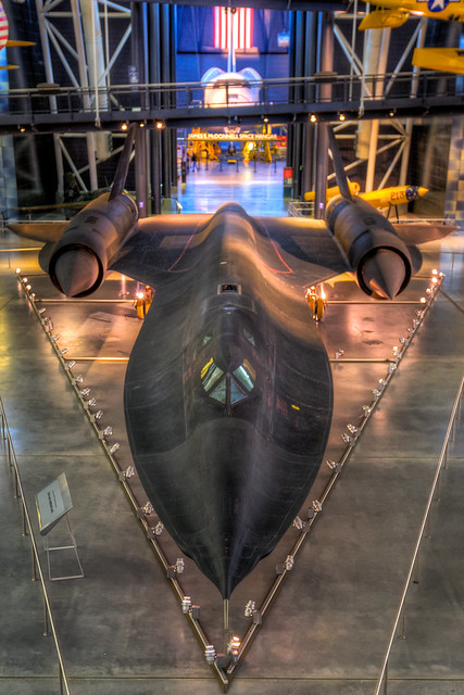 Supersonic SR-71 Blackbird