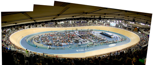 The whole velodrome