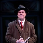 Brooks Ashmanskas in the Huntington Theatre Company's revival of <i>She Loves Me</i> playing at the Boston University Theatre. Part of the 2007-2008 season. Photo: T. Charles Erickson.