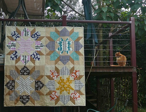 Swoon hand quilted by mandalin18