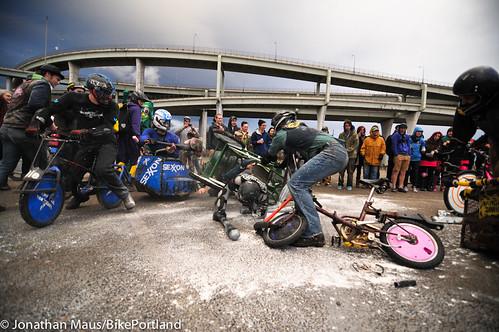 Mini Bike Winter 2012 - Chariot Wars-39