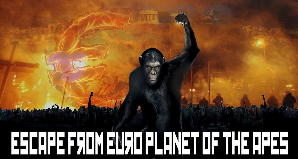 ESCAPE FROM EURO PLANET OF THE APES