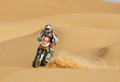 Marc Coma  Abu Dhabi Desert Challenge 2012