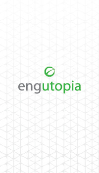 Business card design by Mark Nicholas for green civil engineering firm, engutopia