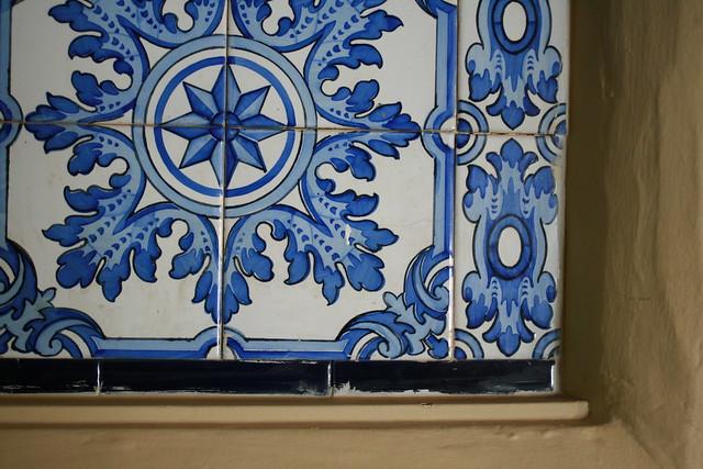 blue tiling