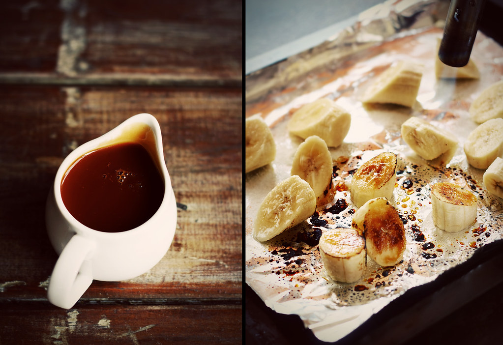 with rum caramel frosting and rum caramel sauce recipe grilled banana ...