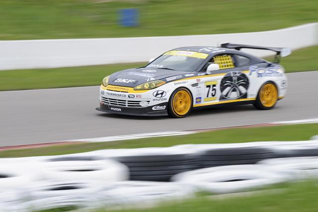 #75 Fastco Motorsports Hyundai Tiburon, Mosport 2011