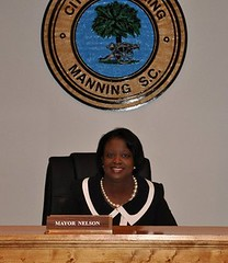 Manning Mayor Julia A. Nelson