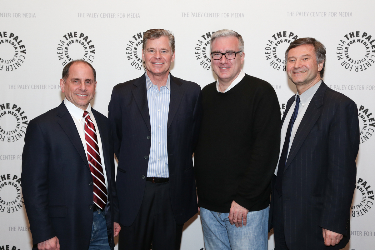 Keith and Dan with Jim Miller at the Paley Center 4