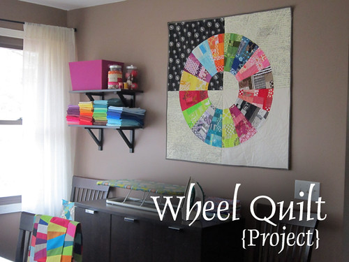 Wheel quilt project