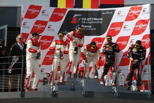 FIA GT1 World Championship Nogaro 2012