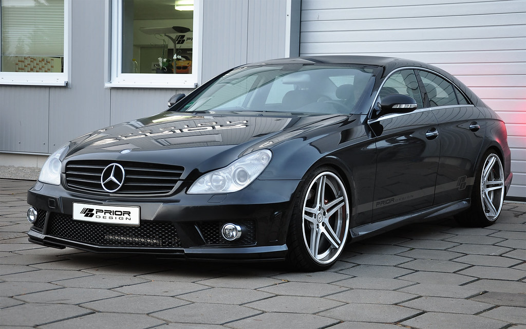 W219 Mercedes Benz CLS Prior Design PD600 Aero Kit