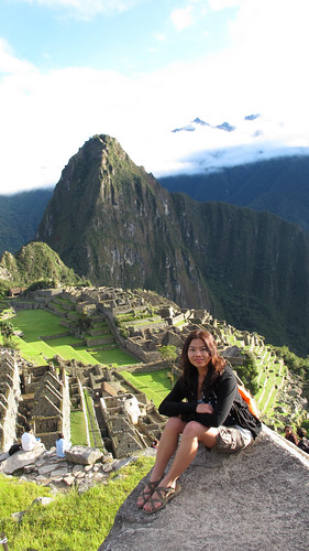 Pinay on top of Machu Picchu4
