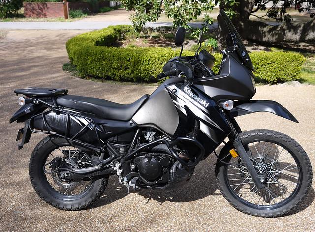 Kawasaki Klr  Oil Change