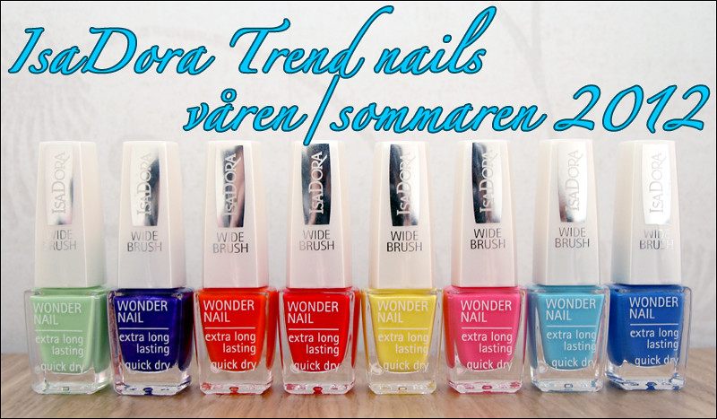 IsaDora trend nails s-s 12