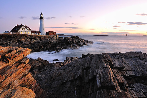 Portland Head Lighthouse by MY DOG TAZ