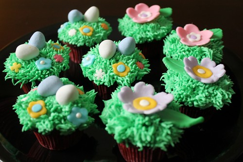 Spring mini cupcakes - 1
