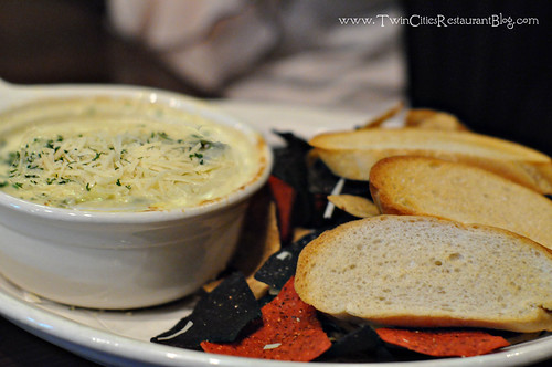 Artichoke Spinach Dip at Rudys Redeye Grill ~ White Bear Lake, MN