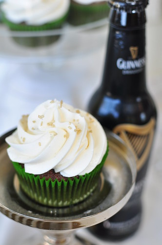 Chocolate Guinness Cupcakes | Meg's Everyday Indulgence