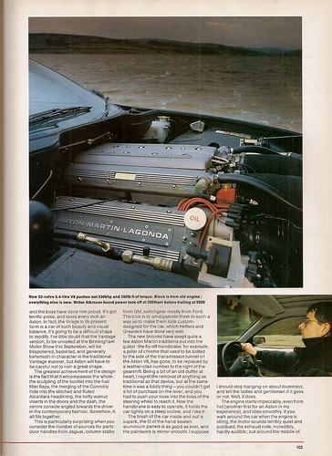 Rowan Atkinson Drives the Aston Martina Virage V8 Road Test 1990 (3)