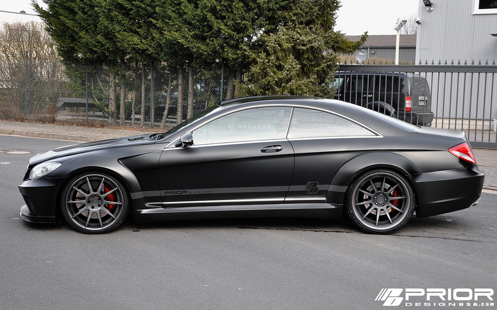 Introducing prior design 39 s w216 cl widebody kit mbworld for Mercedes benz c550 for sale