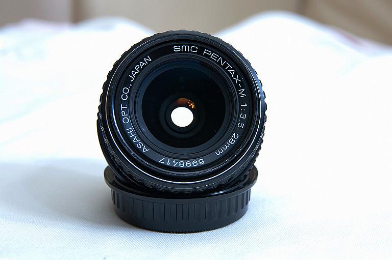 SMC PENTAX-M 1:3.5 28mm